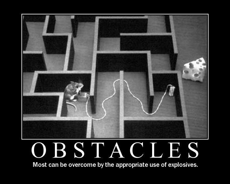 Obstacles, Procrastination, Issues
