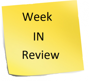 Week In Review - Sticky Note for The Common Cents