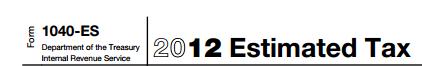 1040-ES 2012