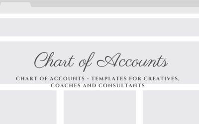 5 Steps To Creating Your Own Chart Of Accounts