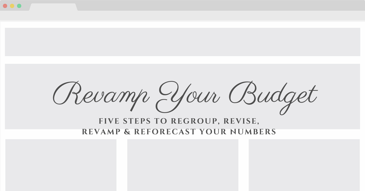 20160708 Revamp Your Budget