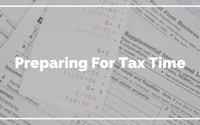 Preparing For Tax Time