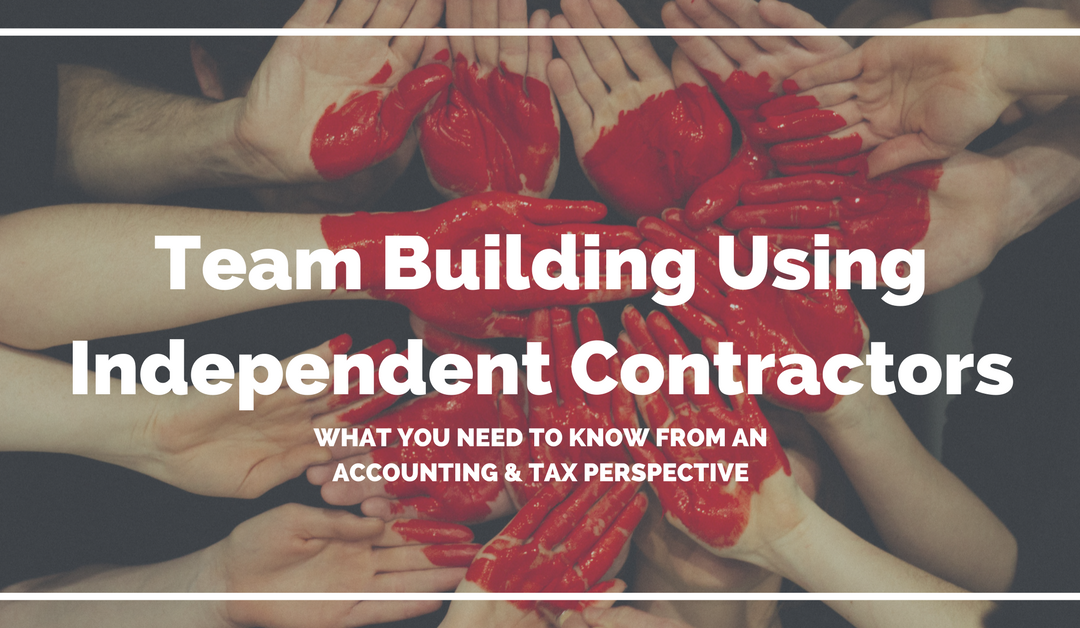Team Building Using Independent Contractors