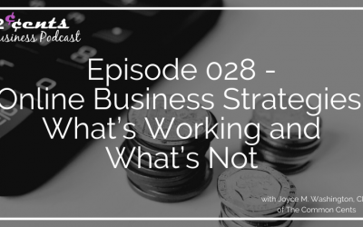 Episode 028 – Online Business Strategies: What's Working and What's Not