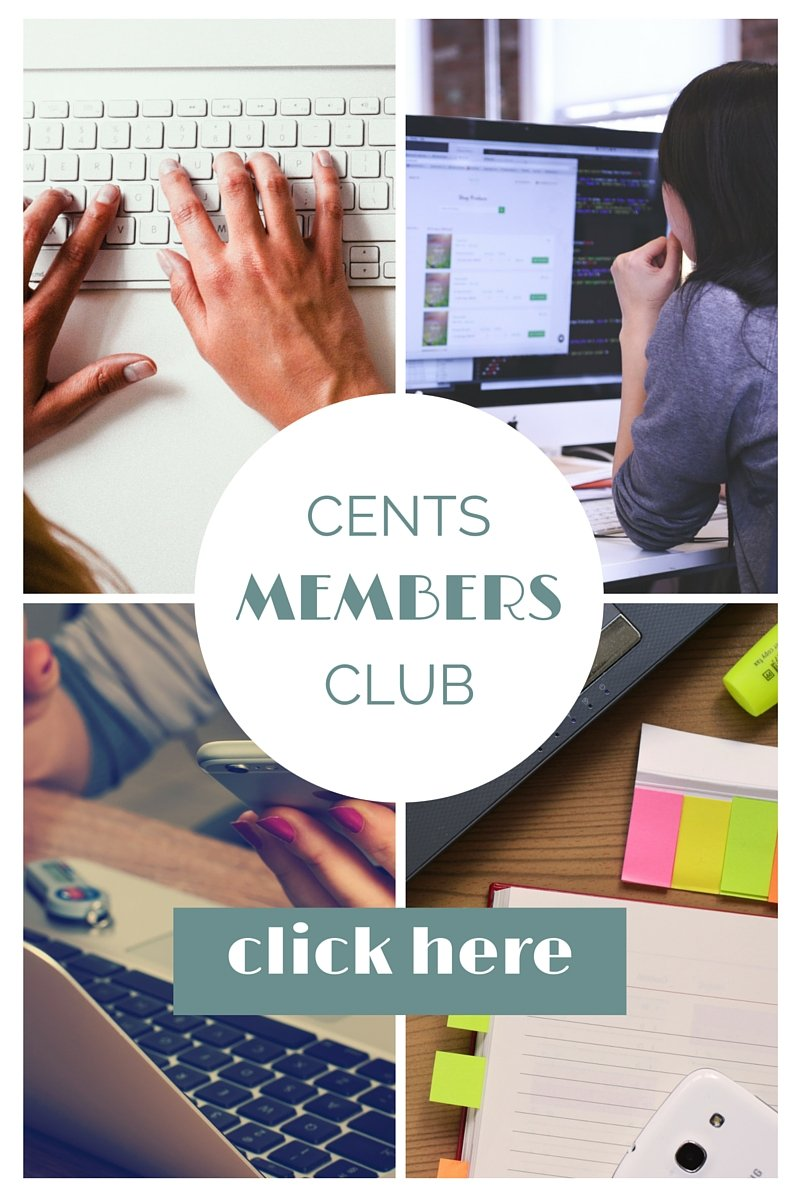 Now Open For Members! The Cents Members Club
