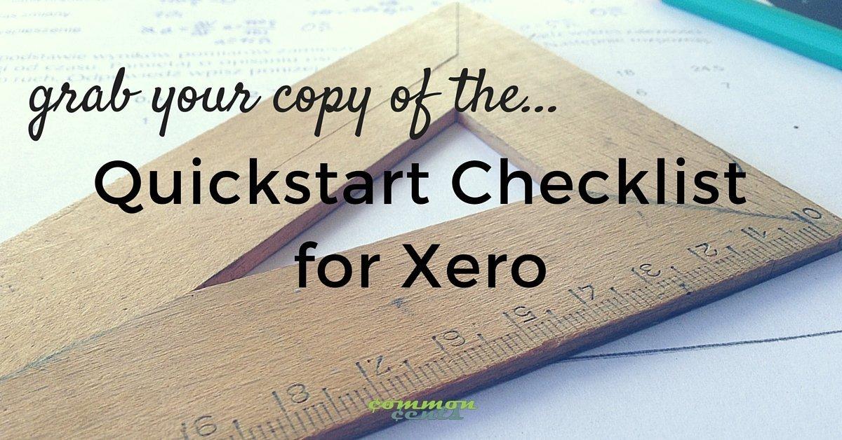 Xero Checklist