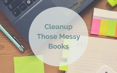 Your Books Are Messy…Clean Them Up