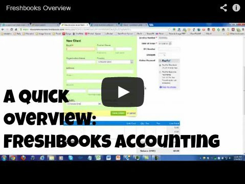 A Quick Overview - Freshbooks Accounting