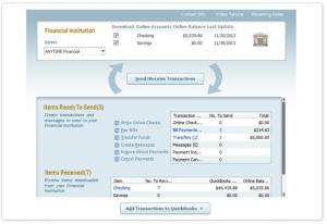 quickbooks bank import