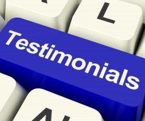 praise + testimonials