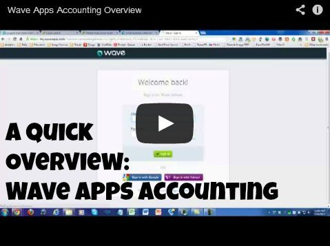 A Quick Overview: Wave Apps Accounting